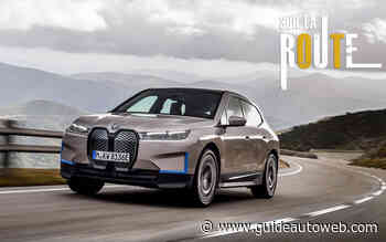 Le BMW iX 100% électrique mis à l'essai
