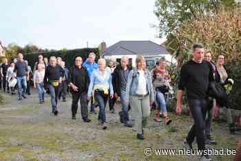 Elfde Trage Wegenwandeling lokt 160 deelnemers