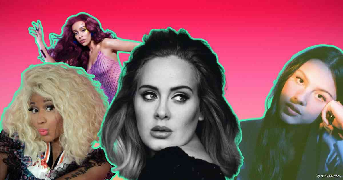 How Adele And Nicki Minaj Influenced Artists Like Olivia Rodrigo And Doja - FasterLouder