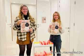 Odisee verzamelt menstruatieproducten