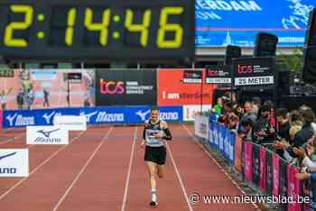 """Joris Keppens na knappe marathon in Amsterdam: """"Hoop nu op het EK"""""""