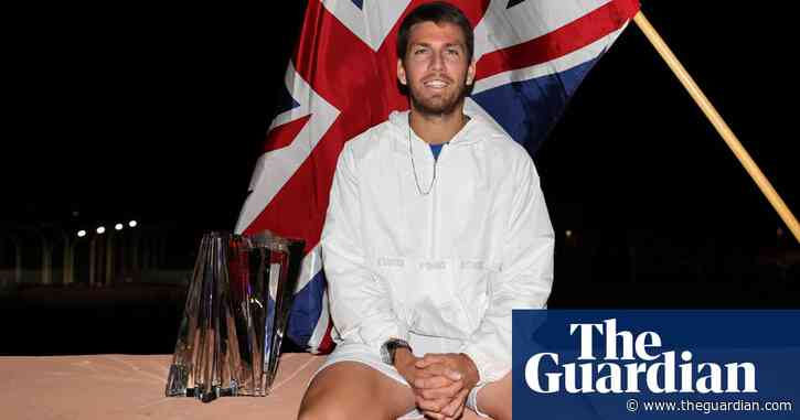 Indian Wells champion Cameron Norrie lost tennis shoes before final