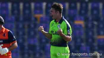'Cannonballs or cricket balls?': Happy Campher as Irishman takes four wickets in four balls