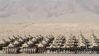 Wegen der Krise in Afghanistan: Tausende Soldaten bei Manöver in Tadschikistan