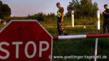 Illegale Migration: Litauen entsendet mehr Soldaten an Grenze zu Belarus