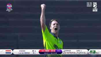 FOUR wickets in FOUR balls!