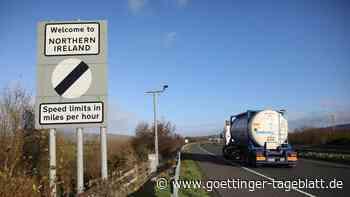 Nordirland-Regeln: Brexit-Minister Frost fordert weitere Änderungen