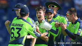 Ireland's Curtis Campher gets rare double hat-trick in T20 World Cup opener