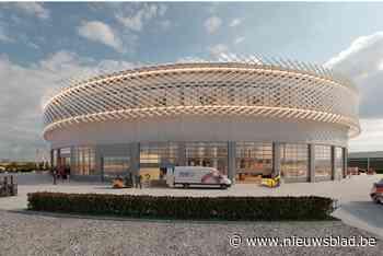 Nieuwbouw TVH Equipment ziet eruit als voetbalstadion