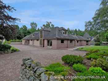 House for sale in Alford, Aberdeenshire, includes two bedroom granny flat - Press and Journal