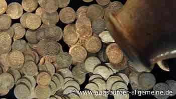 Größter Silbermünzen-Schatz Bayerns: Augsburg zeigt Fund aus Römerzeit