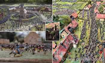 Veterans produce stunning diorama of the Battle of Waterloo