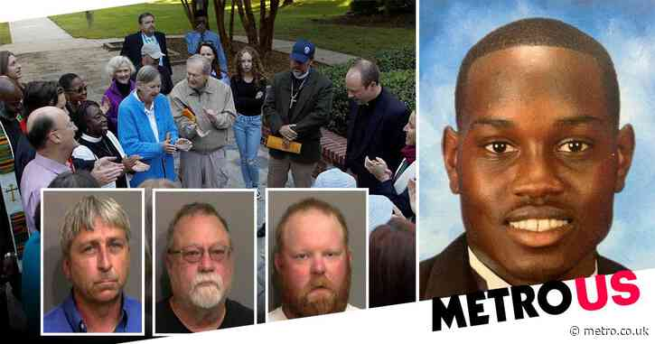 Ahmaud Arbery: Three white men on trial in killing of unarmed black man
