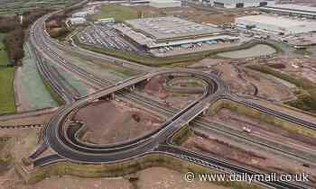 Britain's most expensive 'DEAD END': £50m M49 junction completed in 2019 may FINALLY be connected