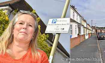 Family with FIVE cars complain council is refusing to give them another annual parking permit