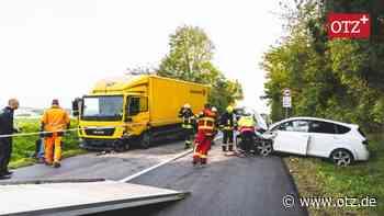 B92 nach Unfall mit drei Verletzte gesperrt   Greiz   Ostthüringer Zeitung - Ostthüringer Zeitung