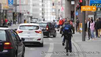 Die Karlstraße in Augsburg ist ein städtebauliches Relikt