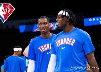Thunder Grateful to Be a Part of 75th NBA Season