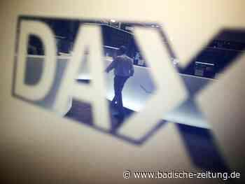 Konjunkturdaten aus China verpassen Dax-Erholung Dämpfer - Wirtschaft - Badische Zeitung