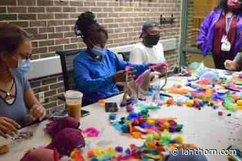 Decorating bras for a cause – Grand Valley Lanthorn - Grand Valley Lanthorn