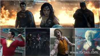 DC Films Must Recapture Their Lost Post-'Justice League' Momentum - Forbes