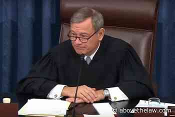 Chief Justice Roberts Changes SCOTUS Argument Procedure, Capable Of Shame - Above the Law