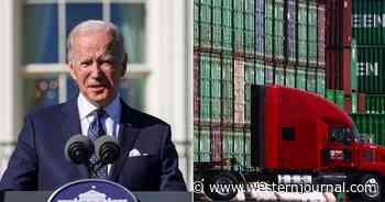 'It's a Dumb Idea': The Trucking Industry Reportedly Has No Confidence in Biden's Plan to Solve Shipping Crisis