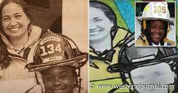 Black Ex-Firefighter Looking at Massive Payout After Mural Artist Got Her Skin Tone Wrong