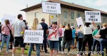 California Parents and Teachers Stage Walkout Over Newsom's Student COVID-19 Vaccine Mandate