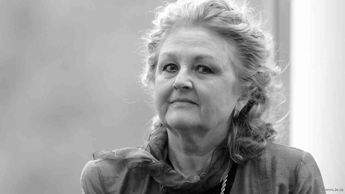 """""""Ich singe mit der Seele"""": Sopranistin Edita Gruberová tot - BR24"""
