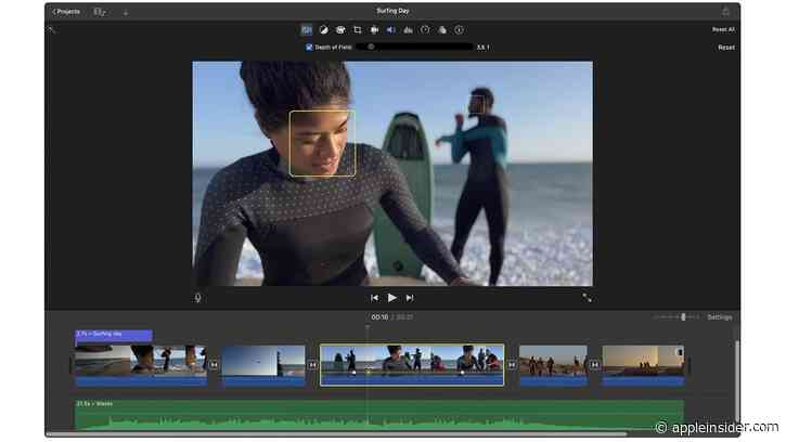 Apple updates iMovie for Mac with Cinematic mode support, more