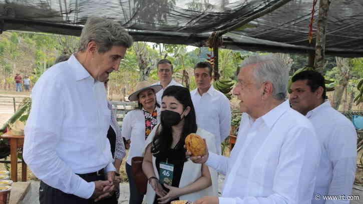 Biden's climate czar & private jet lover John Kerry says US pivot from fossil fuel will create 'many good-paying jobs in Mexico'