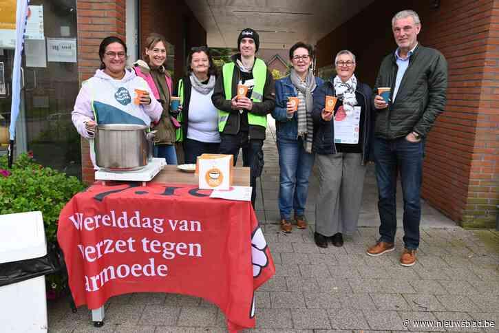 Inloopcentrum en Peter Meter serveren soep in strijd tegen armoede