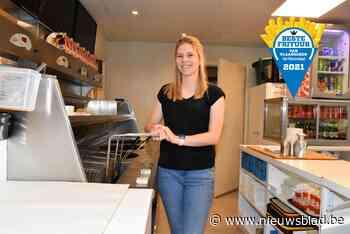 """Schoonheidsspecialiste Daphne (22) neemt Frietboutique over: """"Het vele werk schrikt me niet af"""""""