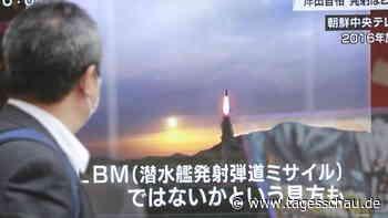 Berichte aus Südkorea: Nordkorea feuert weitere Rakete ab