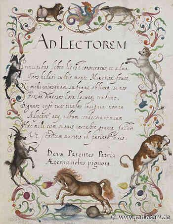 Teuerstes Poesiealbum der Welt in Wolfenbüttel