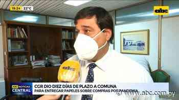 Contraloría da 10 días de plazo a la Municipalidad de Asunción - ABC Color