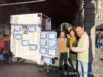 CAW kaart maatschappelijke problemen aan met actie in Ieper - Focus en WTV