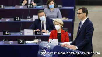"""""""Erpressung"""": Streit zwischen Polen und EU schaukelt sich hoch - Von der Leyen droht mit neuen Verfahren"""