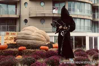 Pompoen van 705 kilogram steelt halloweenshow aan zee