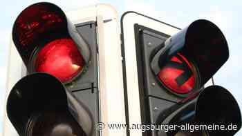 Im ganzen Augsburger Stadtgebiet sind derzeit Ampeln ausgefallen