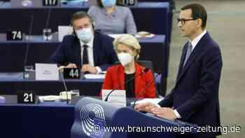 """Polen wirft der EU """"Erpressung"""" vor"""