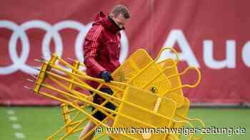 Bayern im Abschlusstraining mit Hernández