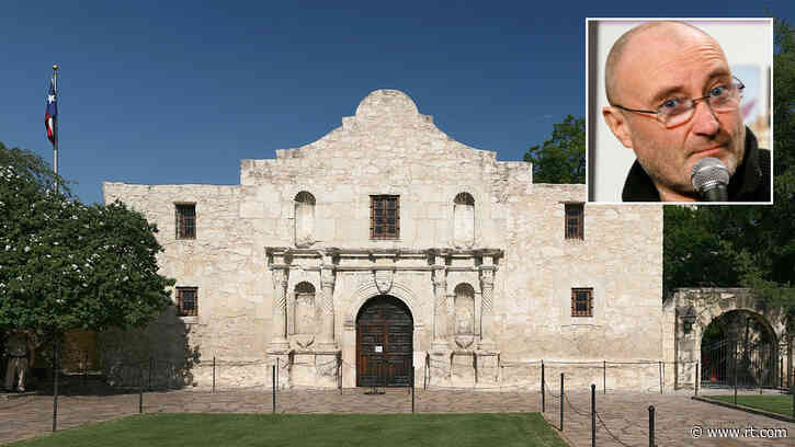 Phil Collins drawn into race controversy after 'Battle of the Alamo' museum criticized for ignoring non-white fighters – reports