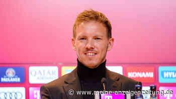 FC Bayern: PK mit Nagelsmann jetzt im Live-Ticker - zwei Stars fehlen im Training
