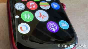 Apple Watch Series 7 no icon issue fixed by Apple