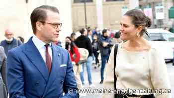 Victoria und Daniel von Schweden: Gut gelaunt in Rom unterwegs