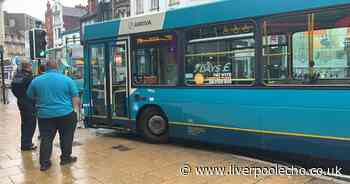 City centre bus crash, Liverpool falls behind in Covid vaccine uptake and appeal for missing woman