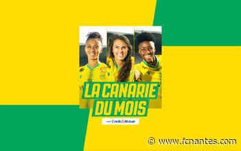 Canarie du Mois by Crédit Mutuel - Elisez votre joueuse du mois de septembre ! - FC Nantes
