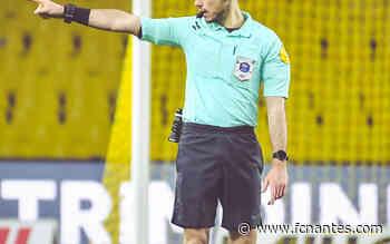 FC Nantes - Clermont Foot 63 - Romain Lissorgue arbitre de la rencontre - FC Nantes